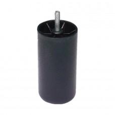 Boxspring Legs 15cm black 6x