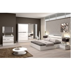Complete High Gloss Bedroom CHRONO
