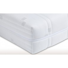 Mattress cover basic - Anti Allergy - 20 cm thick - 3-sided zipper