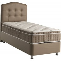1 person Boxspring with storage space - 90x200 boxspring with storage space