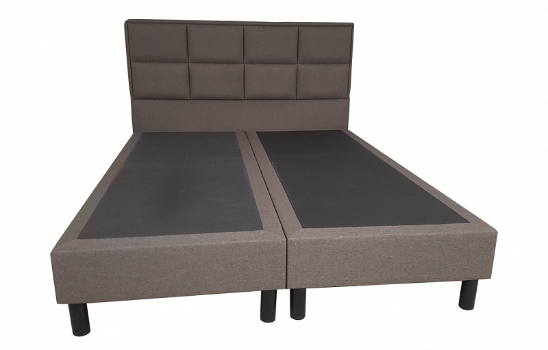 Vouwbed Zonder Matras.Boxspring Kristal 2 Persoons Zonder Matras